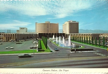 Caesars Palace in the early years