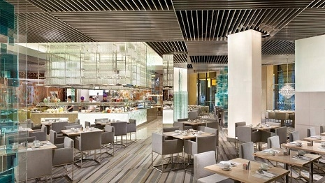 The Bacchanal Buffet at Caesars Palace
