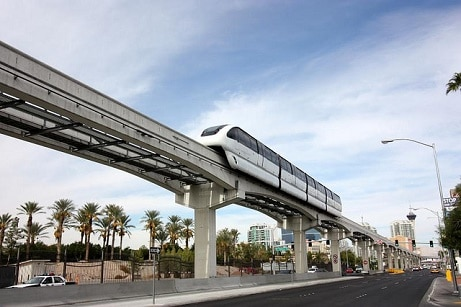 Las Vegas Monorail prices are pretty affordable