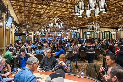 The Bellagio has one of the best poker rooms in Las Vegas