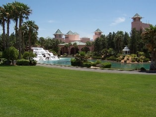 The grounds of the CasaBlanca in Mesquite, NV