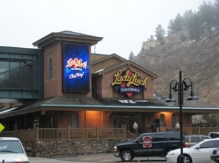 The Lady Luck Casino and Hotel in Black Hawk, Colorado