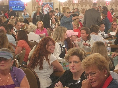 Nearly a thousand women a year enter the WSOP Ladies Tournament