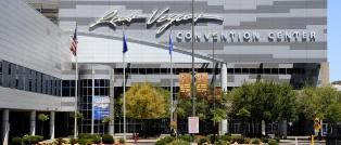 The Las Vegas Convention Center is Just One Long Block from the Strip