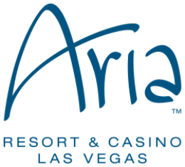 The Aria is less than 1.5 miles from Treasure Island