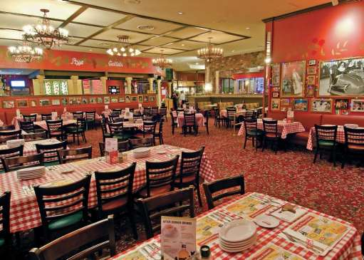 Buca di Beppo at the Excalibur
