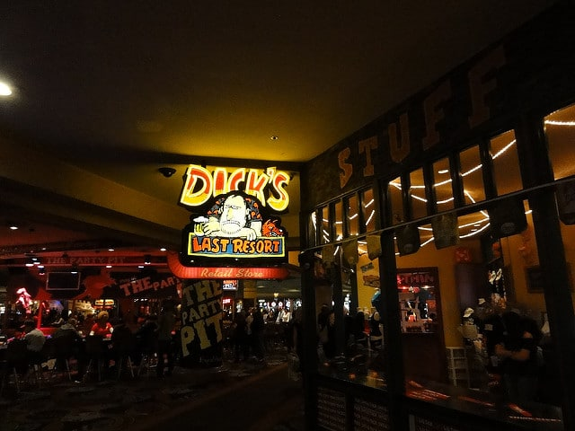 Dick's Last Resort at the Excalibur