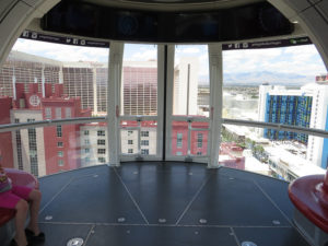 Inside one the High Roller's Cabins