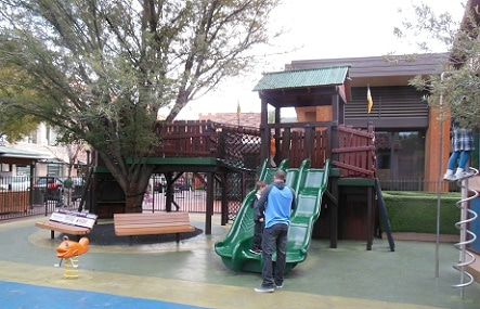 Just part of the cute play area at Town Square Las Vegas