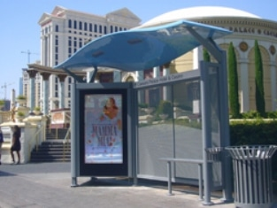 Deuce Bus Stop at Caesars Palace