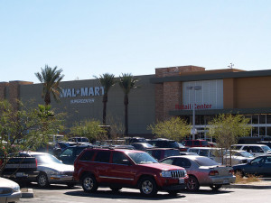 There are 2 Walmarts close to the Las Vegas Strip