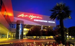 It's 3.3 miles from the Luxor to The Las Vegas Convention Center