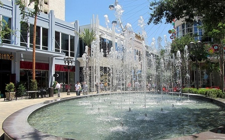 Fountains at the Linq