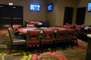 Poker Room at the Linq Casino