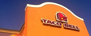 There are 25 Taco Bells in Las Vegas