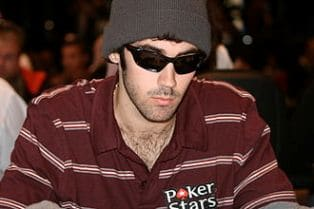 Jason Mercier Playing Poker