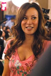 Phil Laak's Girlfriend, Jennifer Tilly, at the WSOP