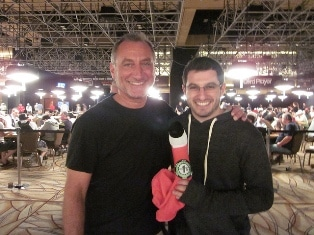 Phil Galfond and his Dad at the 2011 WSOP