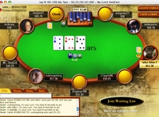 Poker Stars screen shot
