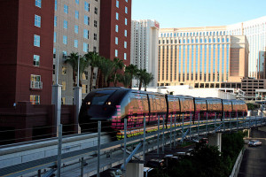 The Las Vegas Monorail has 7 stops