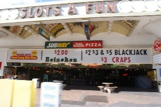 Subway at Slots'A'Fun in Las Vegas
