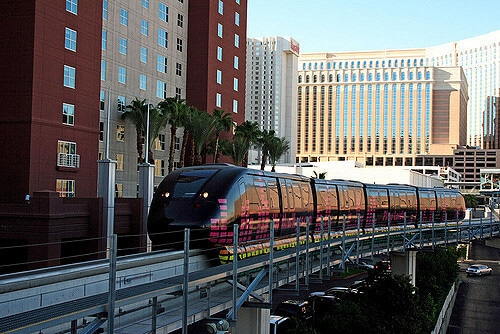 The Las Vegas Monorail has 7 stations