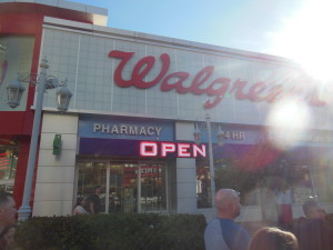 Walgreens close to the MGM Grand