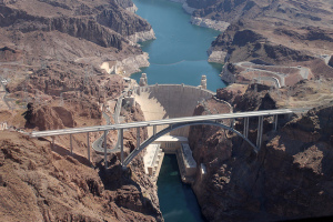 Hoover Dam is less than an hour from Las Vegas