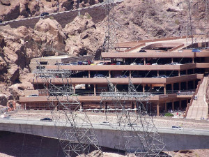 The Hoover Dam's Visitor Center Parking Garage