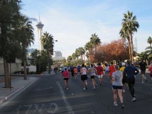 You'll feel like you ran a marathon when walking the entire length of the Las Vegas Strip