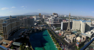 The Las Vegas Strip is just over 4 miles in length