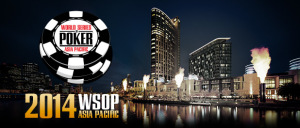 The 2014 WSOP APAC was once again held in Melbourne, Australia
