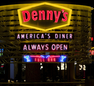 Denny's Las Vegas is Not Your Grandpa's Denny's