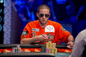 Greg Merson at the final table of the 2012 WSOP Main Event