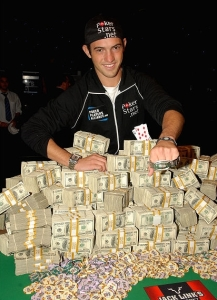 Joe Cada won the 2009 WSOP Main Event