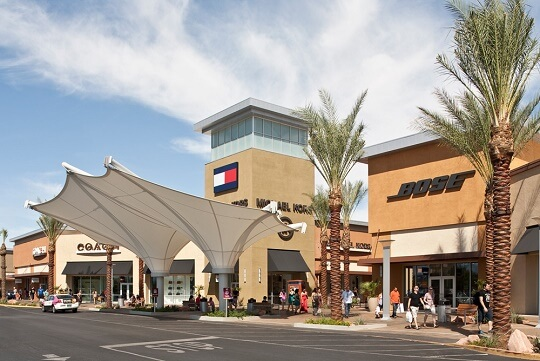 Las Vegas South Premium Outlets® offers more than outlet stores including Michael Kors, Coach, Movado, Armani Exchange, Polo Ralph Lauren, and many more. We are a wonderful climate controlled indoor mall with additional shopping choices outside in our promenade.