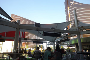 One of the restaurants at the Fashion Show Mall in Las Vegas