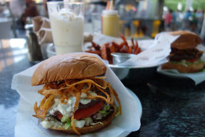 Stripburger is a popular restaurant at the Fashion Show Mall