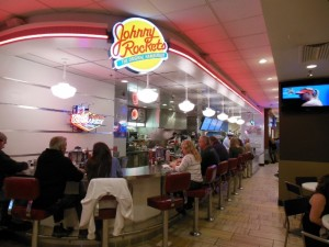 Johnny Rockets at the Flamingo Food Court in Las Vegas
