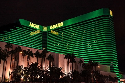 MGM Grand Las Vegas has lots of parking, but it will cost you