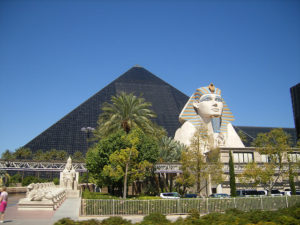 There's plenty of self-parking available at the Luxor in Las Vegas