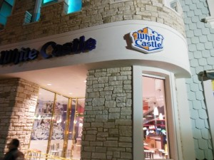 White Castle's Location on the Las Vegas Strip