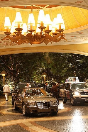 Valet Parking at the Encore