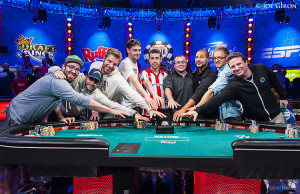 The 2014 World Series of Poker November Nine