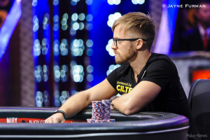 Martin Jacobson, winner of the 2014 WSOP Main Event