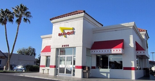 There are In-N-Out Burgers in Las Vegas, including one on the Strip