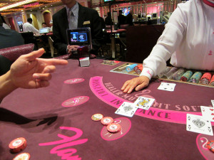 You can Martingale Blackjack too