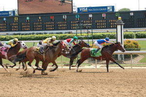 It's legal to bet on horse racing online in the United States (as long as your state doesn't prohibit it).