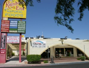 Rainbow's End Health Food Store Close to the Las Vegas Strip
