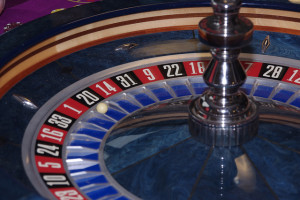 The Gambler's Fallacy would say that a red number is due next